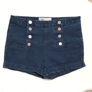 5x25🎁🎁🎁RSQ JEANS HIGH RISE SHORT SIZE 9